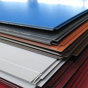 Листы с полимерным покрытием